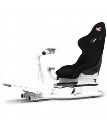 RSEAT RS1 ALCANTARA WHITE