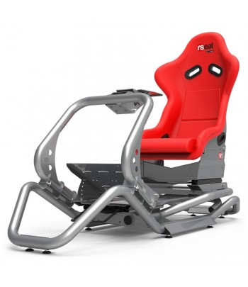 RSEAT N1 RED/SILVER