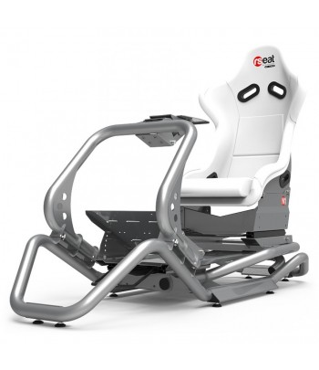 RSEAT N1 WHITE/SILVER