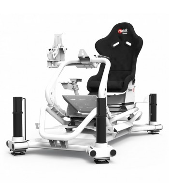 RSEAT N1 M4A 6000 WHITE MOTION SIMULATOR