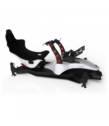 RSEAT FORMULA M4A SILVER/RED