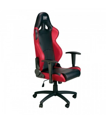 OMP GAMING CHAIR BLACK/RED
